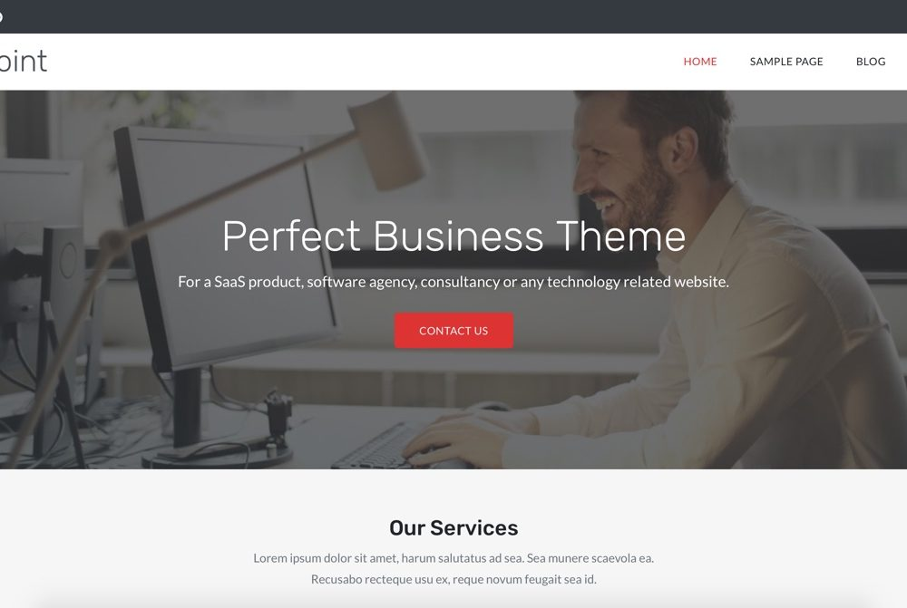 SoftPoint WordPress Theme