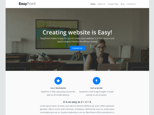 EasyPoint-WordPress-theme-screenshot